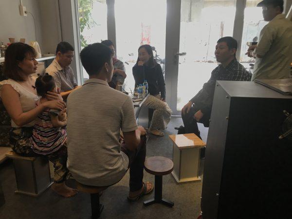 Offline kinh nghiệm về máy rang cafe