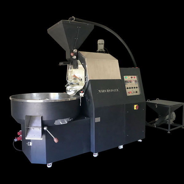 Hình máy rang cà phê công nghiệp 30kg
